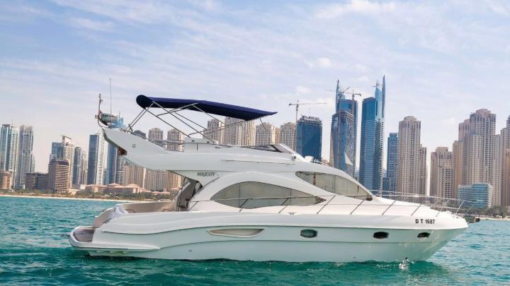 48 ft yacht fishing trip