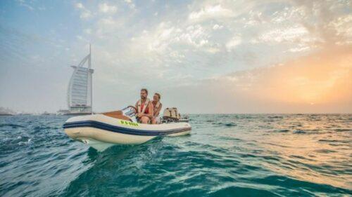 Self Drive Boat Sunset Tour