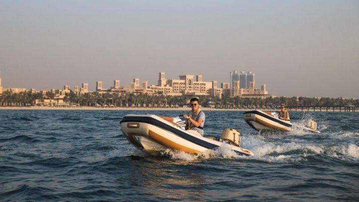 Self-Drive Boat Sunset Tour Dubai